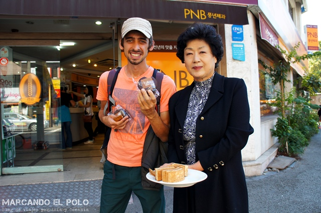 Comida coreana - PNB chocopie Jeonju