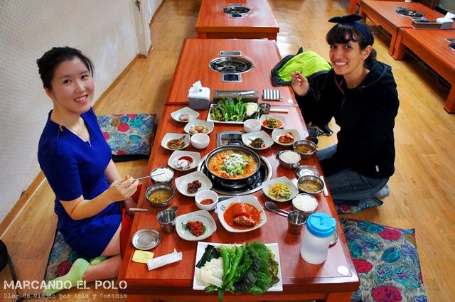 Comida coreana - ssambap