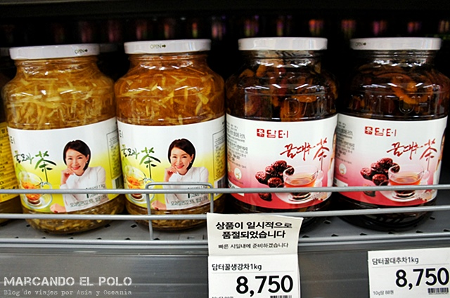 Comida coreana - yujacha te mermelada