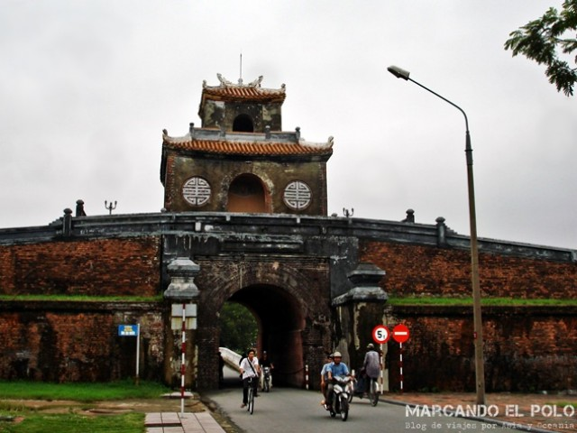 Muralla histórica de Hue