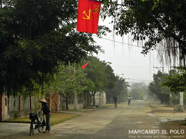 Las tranquilas calles de Tam Coc