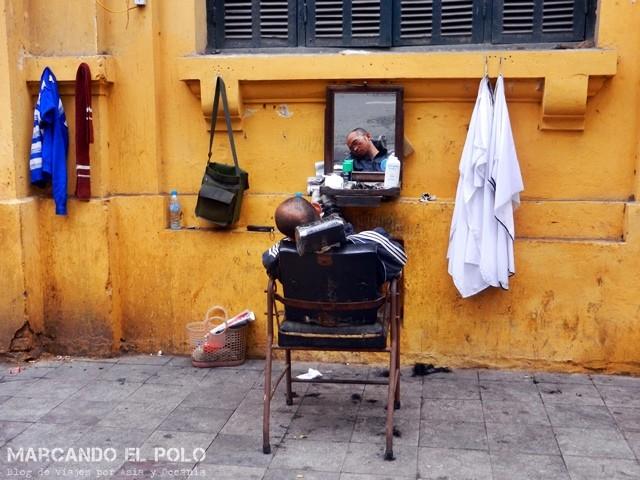 Día tranquilo en la peluquería – Hanoi
