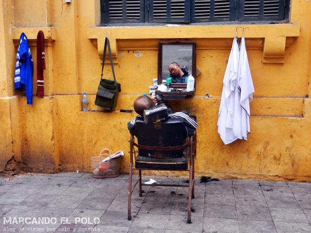 Día tranquilo en la peluquería - Hanoi