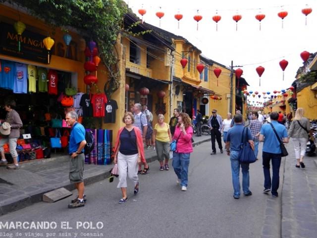 En busca de un vietnamita en el Old Town de Hoi An