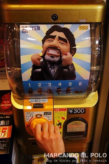 Curiosidades Japon Maradona