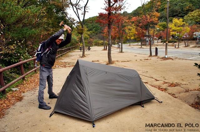 Quién nos mandó a acampar?!!!