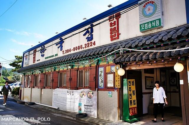 Hankookjib, el bibimbap más famoso del país