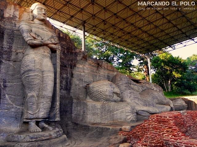 Esculturas de Buda en Polonnaruwa