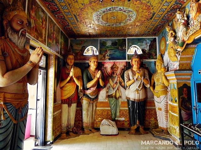 Viajar a Si Lanka - templo en Annuradhapura