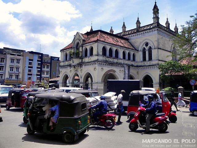 Viajar a Sri Lanka - Calles de Colombo