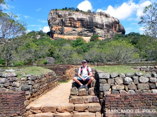 Roca del León, Sigiriya