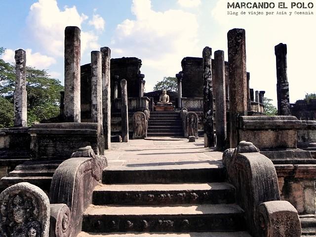 Vatadage en Polonnaruwa