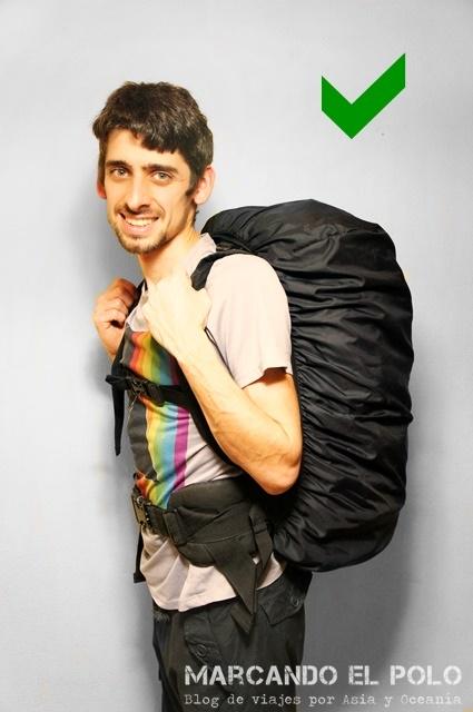 Cómo preparar la mochila para un viaje largo