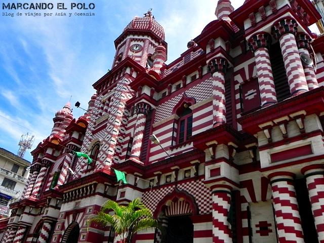 Viajar a Sri Lanka - Mezquita Jami-Ul-Alfar