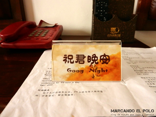 Viajar a China sin hablar chino - chinglish 5