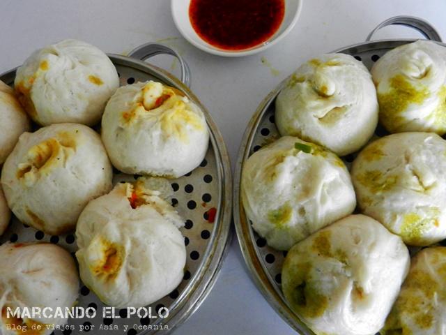 Viajar a China sin hablar chino - comida