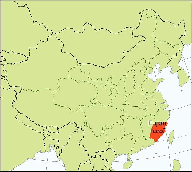 """Fujian, la """"Génova"""" de China: la mayoría de los inmigrantes en Argentina vienen de esta provincia."""