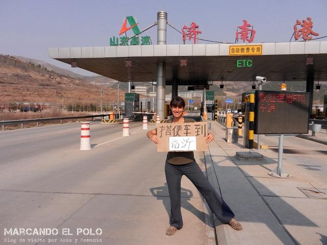 Autostop Viajar a dedo por China 15