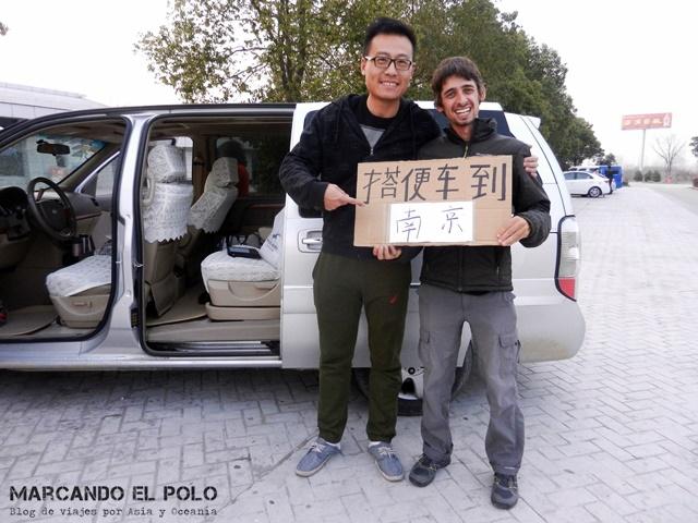 Autostop Viajar a dedo por China 18