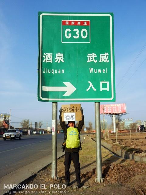 Autostop Viajar a dedo por China 2