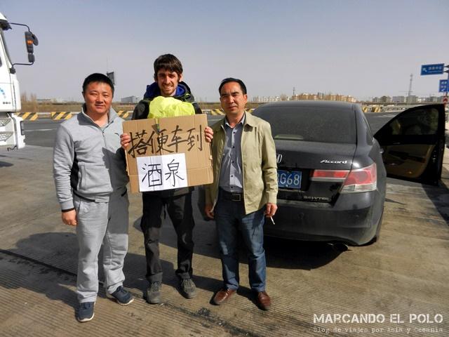 Autostop Viajar a dedo por China 3