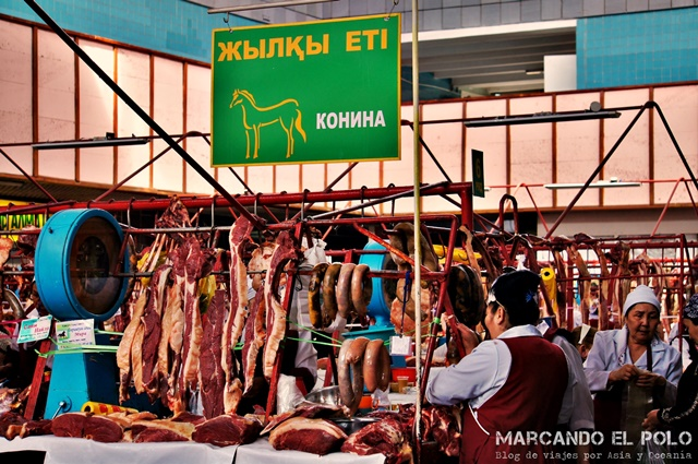 Carniceria carne de caballo Kazajistan