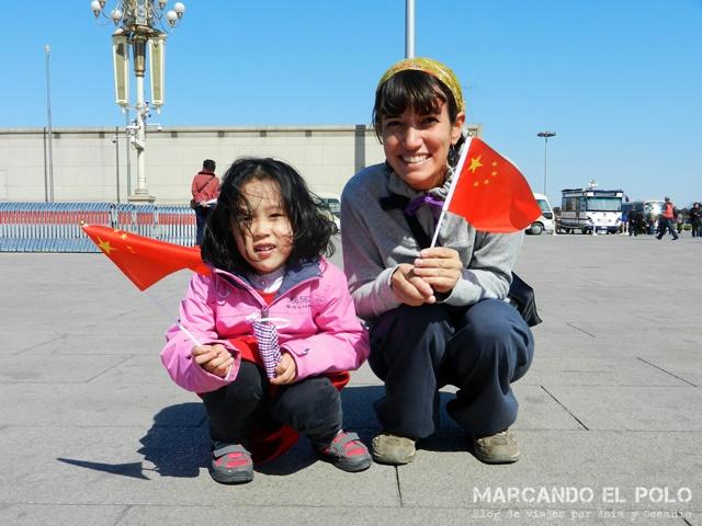 Consejos planear viaje por China - Plaza Tiananmen