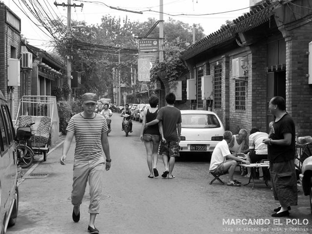 """En Beijing, la mayoría de los hostels están en estos """"hutongs"""", lo que hace que sean imposibles de encontrar sin un mapa."""
