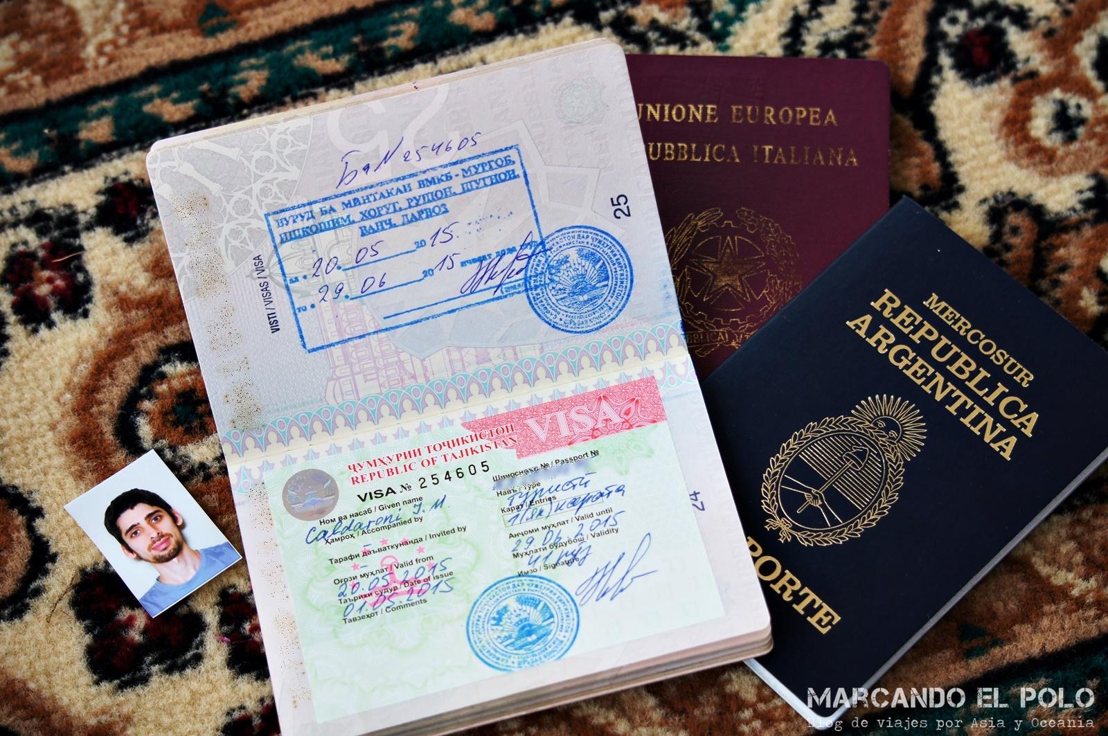 Visa de Tayikistán