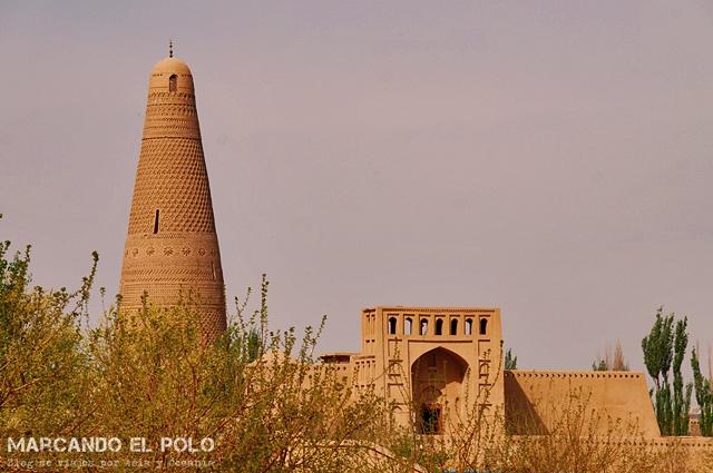 Desde afuera también se ve. Emin minaret