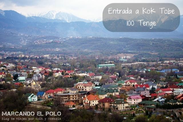 Kok Tobe, desde donde se obtienen las mejores vistas de Almaty