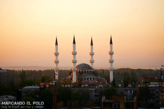Mezquita en Bishkek