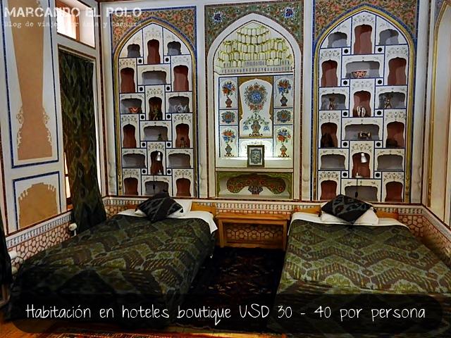 Minzifa Hotel - Bukhara 5