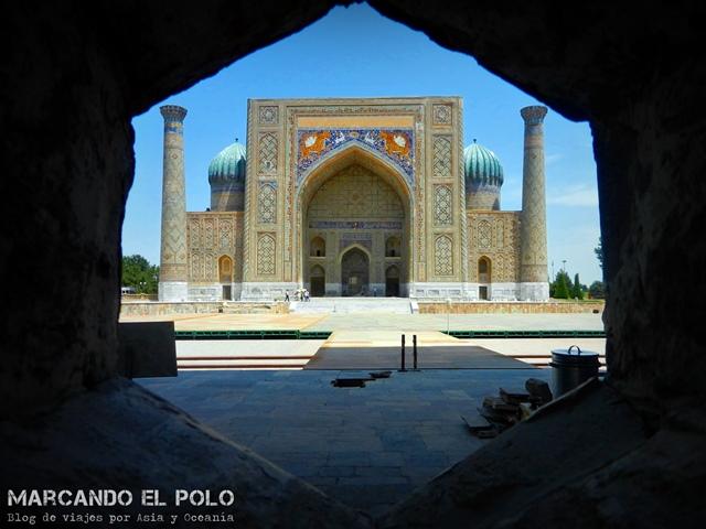 Presupueso para viajar a Uzbekistan Samarcanda (2)
