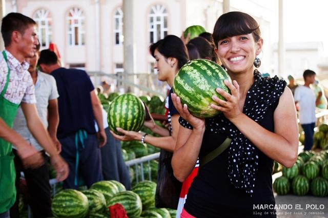 Presupuesto para viajar a Uzbekistan