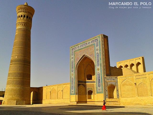 Presupuesto mochilero Uzbekistan