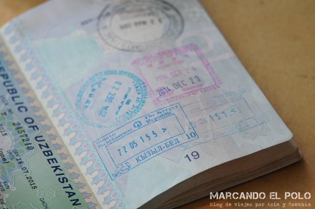 Visa para viajar a Kirguistan