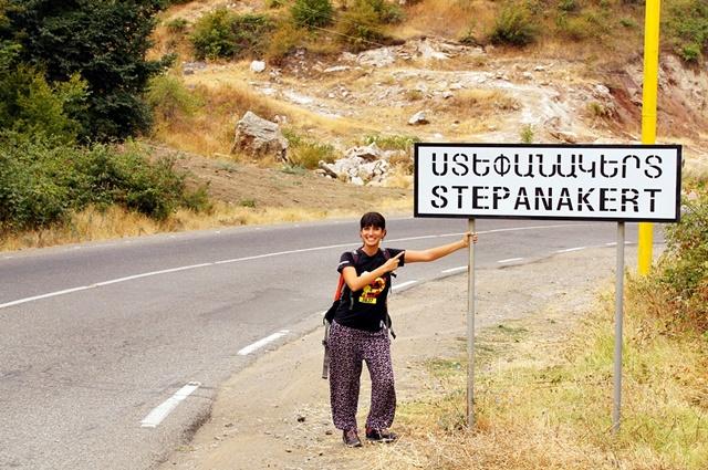 Camino a Stepanakert