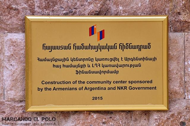 La diáspora armenia de Argentina es una de las que más ayuda aporta a Nagorno-Karabakh