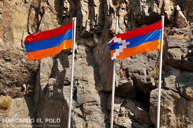 Nagorno-Karabakh-bandera