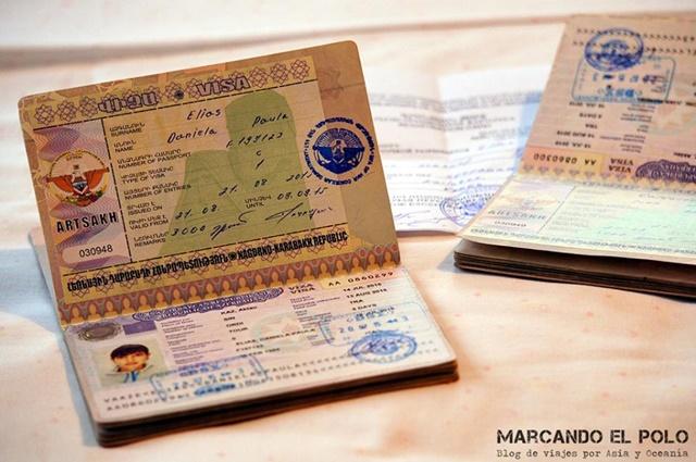 Nagorno Karabakh - visa