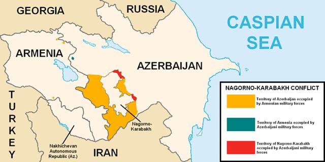 Nagorno-Karabakh_Mapa