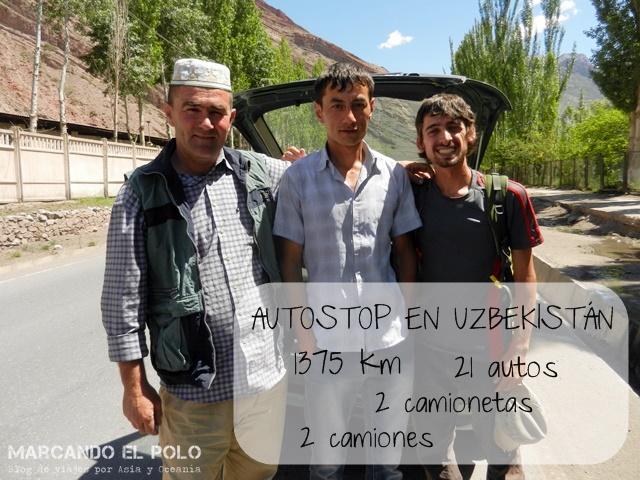 Viajar a dedo por Asia Central 18 uzbekistan