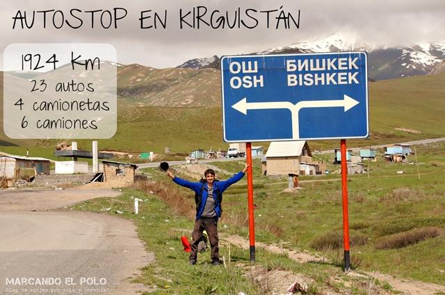 Autostop Kirguistan