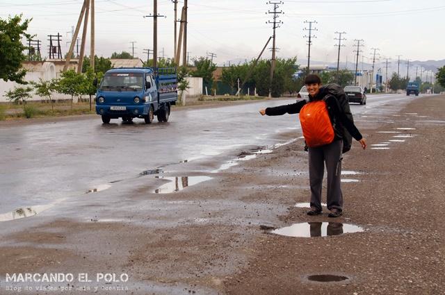Recién llegados a Tayikistán