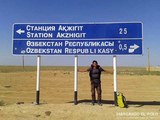 Viajar a dedo por Asia Central