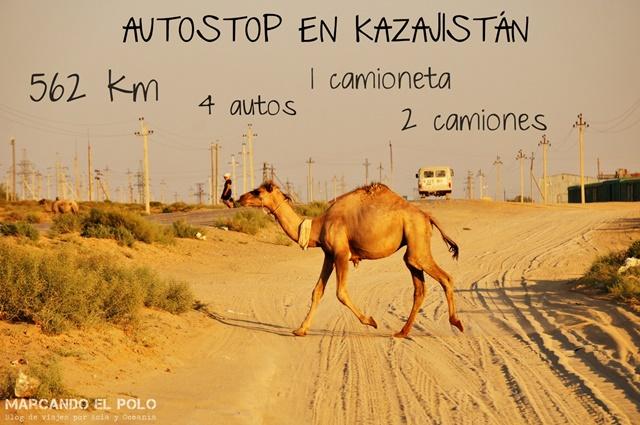 Autostop Kazajistan