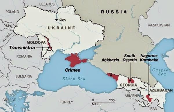 Crimea no forma parte de la Comunidad de Estados no reconocidos