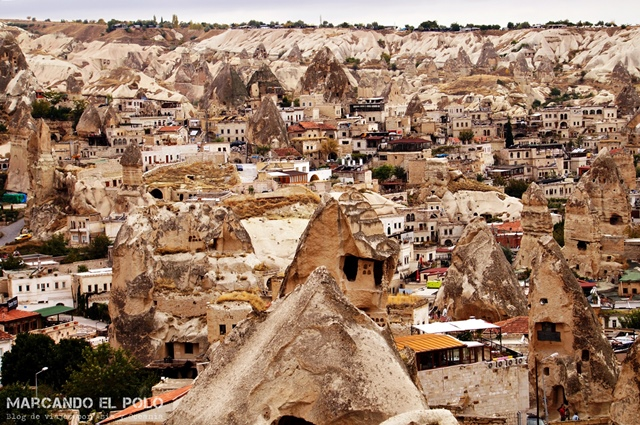 Vista de Göreme desde el Sunset Point