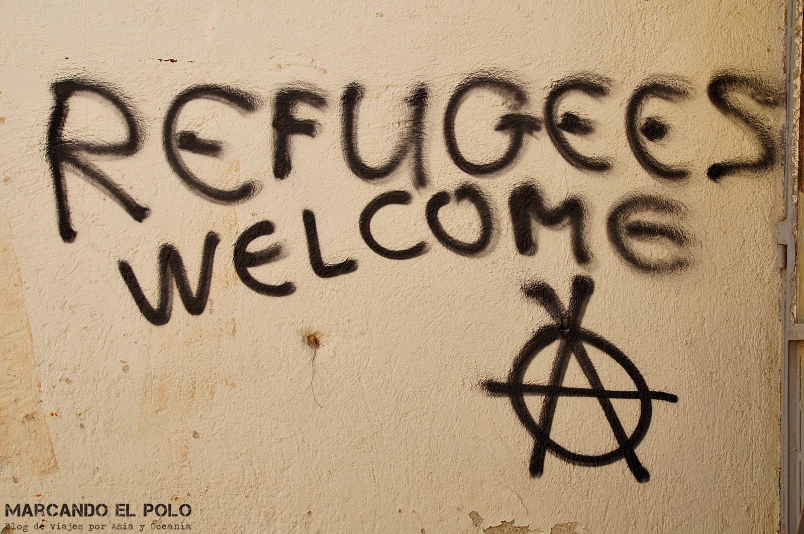 Todo-refugiado-es-politico-Refugees-welcome